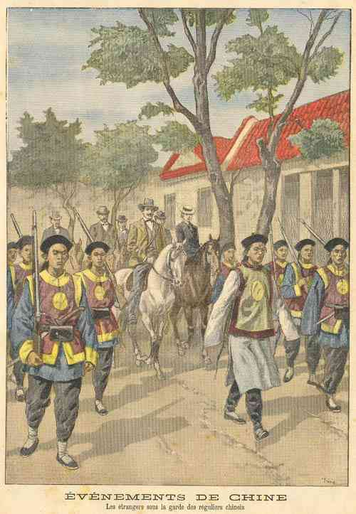 """boxer uprising The terms """"boxer uprising"""" and """"boxer war"""" refer to two different, but closely interconnected upsurges of collective violence that shook northern china in the period between 1899 and 1901 the boxers were a popular religious, social, and (at least indirectly) anti-imperialist group that came to threaten the."""
